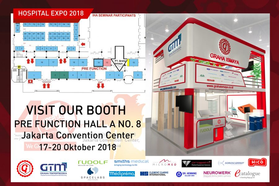 GRAHA ISMAYA – GTM PARTICIPATION AT HOSPITAL EXPO 2018